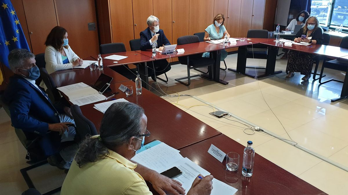 Reunión Comisión Técnica de la Memoria Histórica de Canarias.
