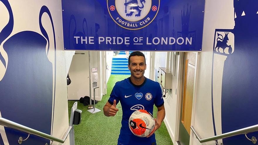 Pedro Rodríguez se despide del Chelsea