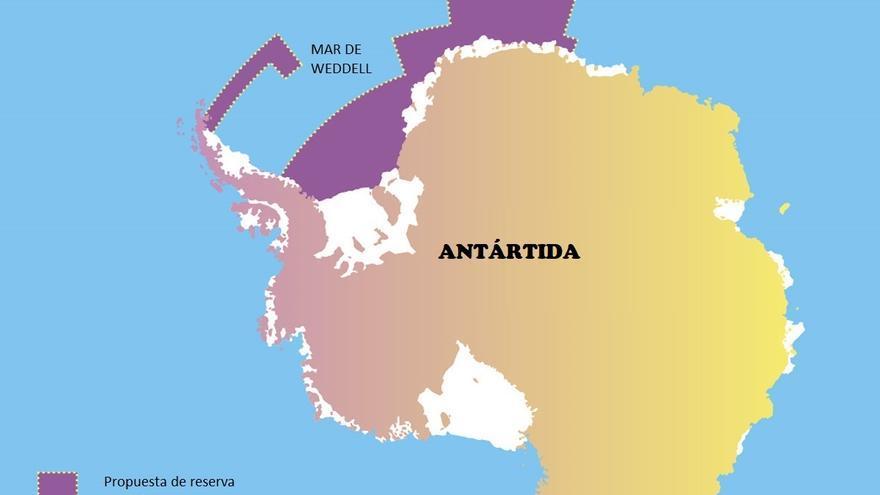 Propuesta de santuario oceánico en el mar de Weddell / Greenpeace