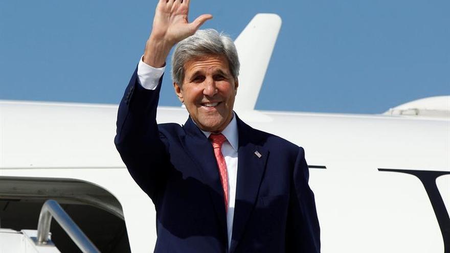 Kerry abordará hoy con Poroshenko el cumplimiento de los Acuerdos de Minsk