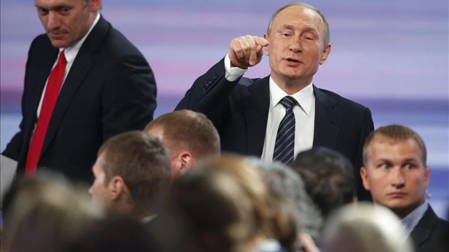 Putin: si es necesario emplearemos medios adicionales en Siria
