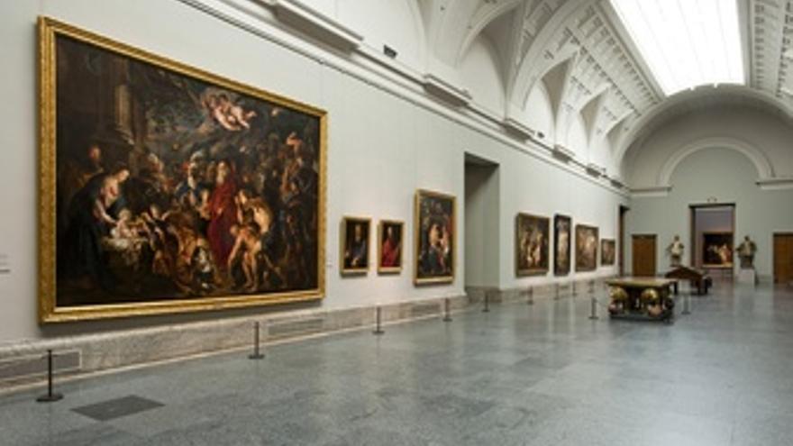Galería Central Del Museo Del Prado