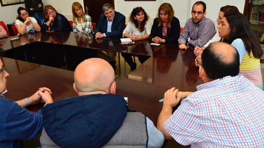 Reunión de Podemos Canarias con UGT Comercio