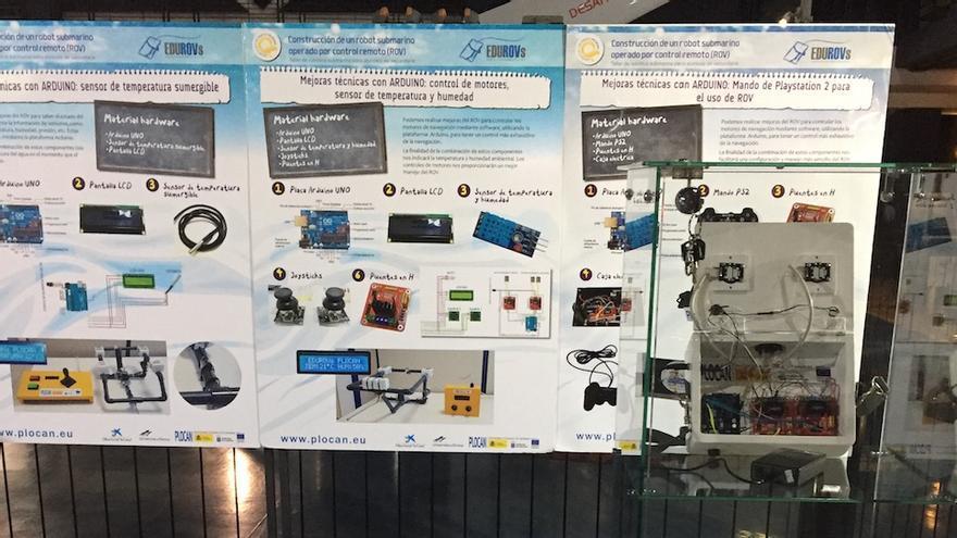 Kit de robótica submarina.