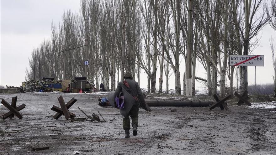 Kiev afirma que 1.500 soldados rusos cruzaron la frontera el 7 y el 8 febrero
