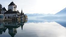 El Castillo de Oberhofen junto al lago. Gervasio Varela