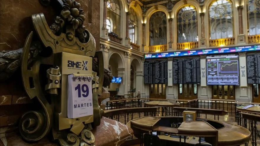 El IBEX se sobrepone a la caída de la banca y sube 0,05 % hasta 11.505 puntos