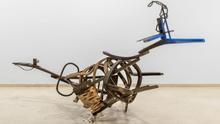 Una de las esculturas de Jorge Peris en el IVAM.