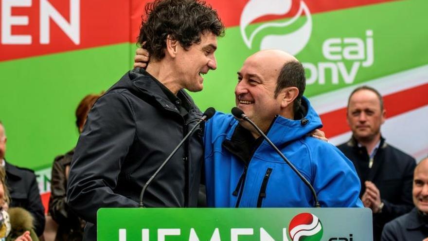 Ortuzar: El voto al PNV vale para defender a Euskadi y parar a la derechona
