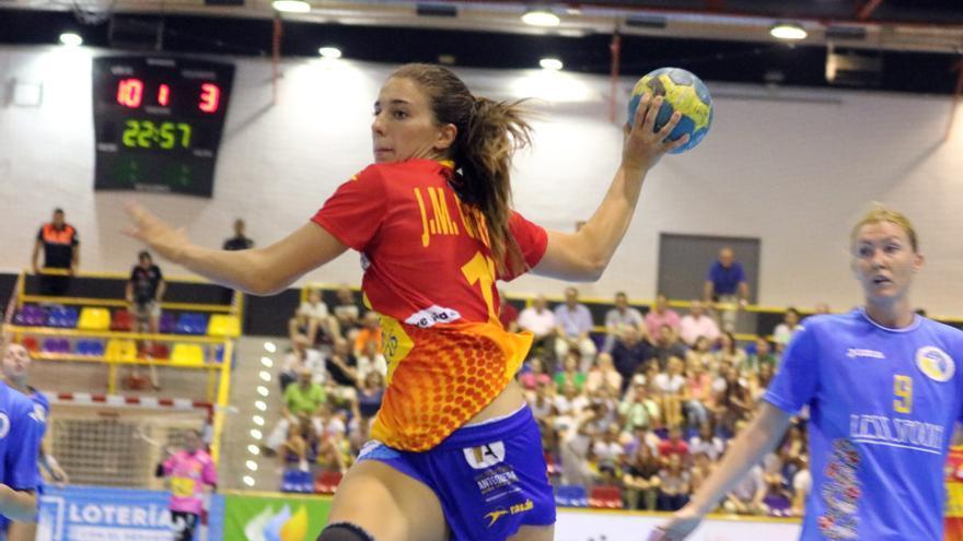 equipacion seleccion española balonmano femenino