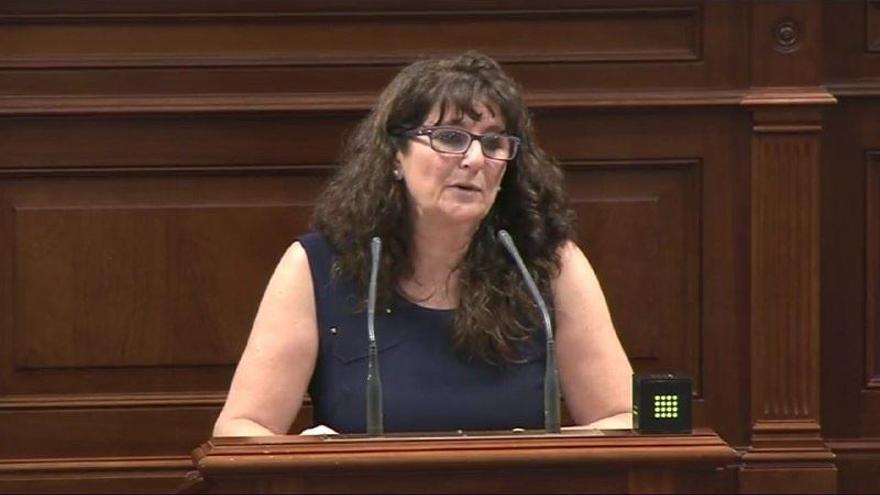 La diputada en el Parlamento de Canarias Soledad Monzón (Foto: Podemos)