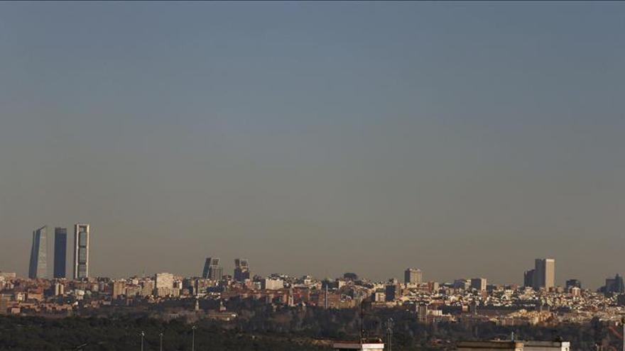 Vista general de Madrid el 12 de enero de 2015.