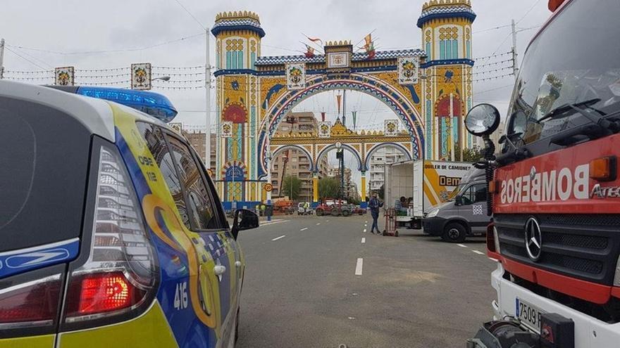 Denunciado un hombre tras hacerse pasar por inspector de gas en casetas de la Feria de Abril