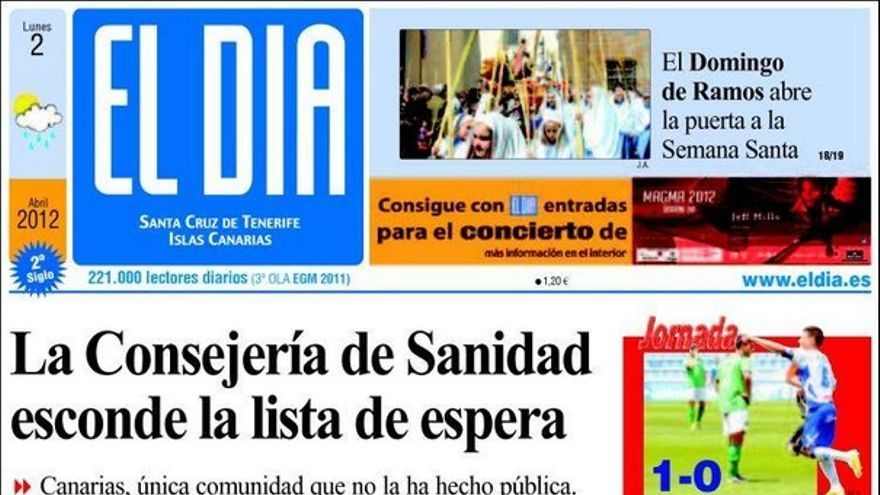 De las portadas del día (02/04/2012) #3