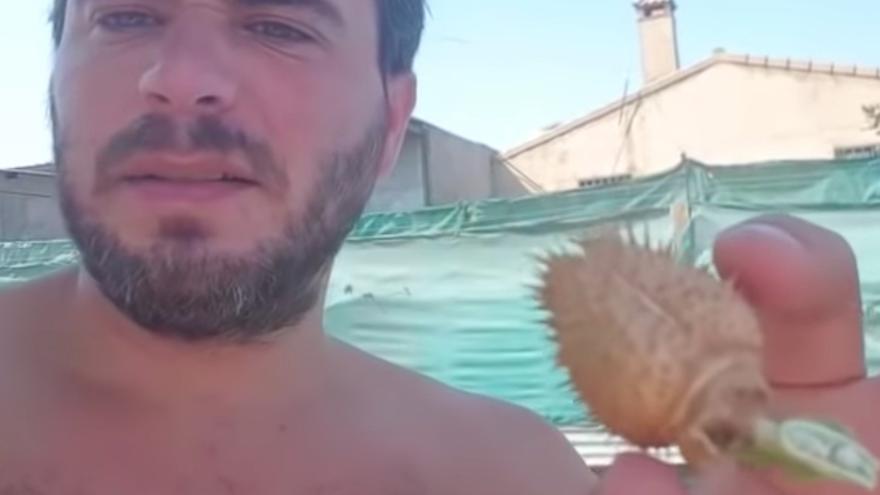 El candidato de Vox en Moguer en un fotograma del polémico vídeo.