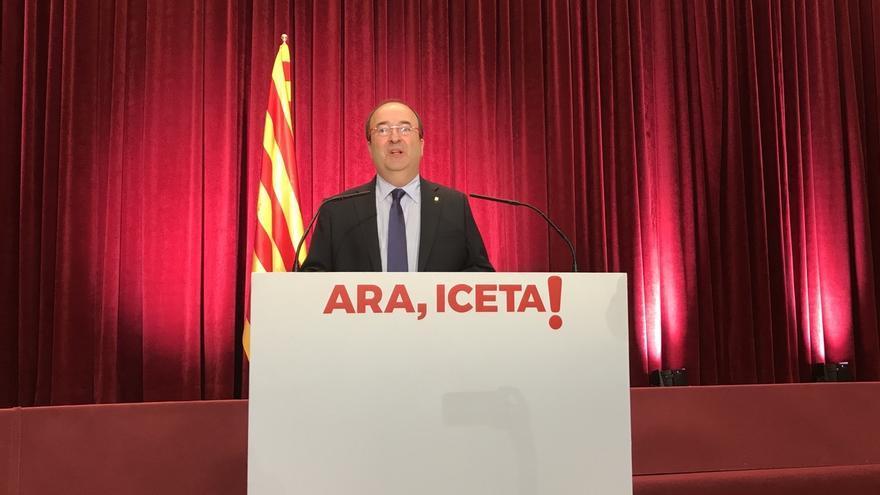 """Iceta solo reeditaría un tripartito si no es """"para prolongar el proceso"""" soberanista"""