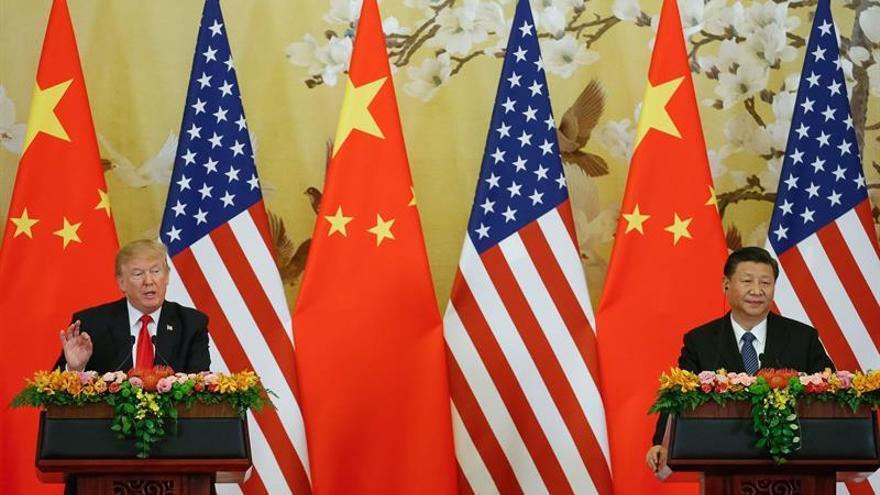 El presidente Trump finaliza un viaje a China marcado por la distensión