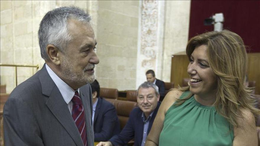 """Griñán admite errores pero ve a Andalucía como """"esperanza"""" de miles españoles"""
