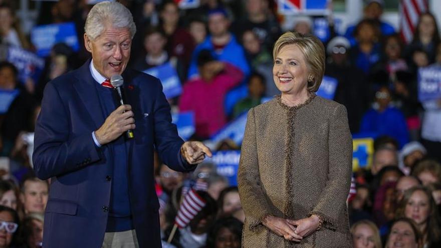 Hillary Clinton empieza a definir el papel de Bill en su Casa Blanca