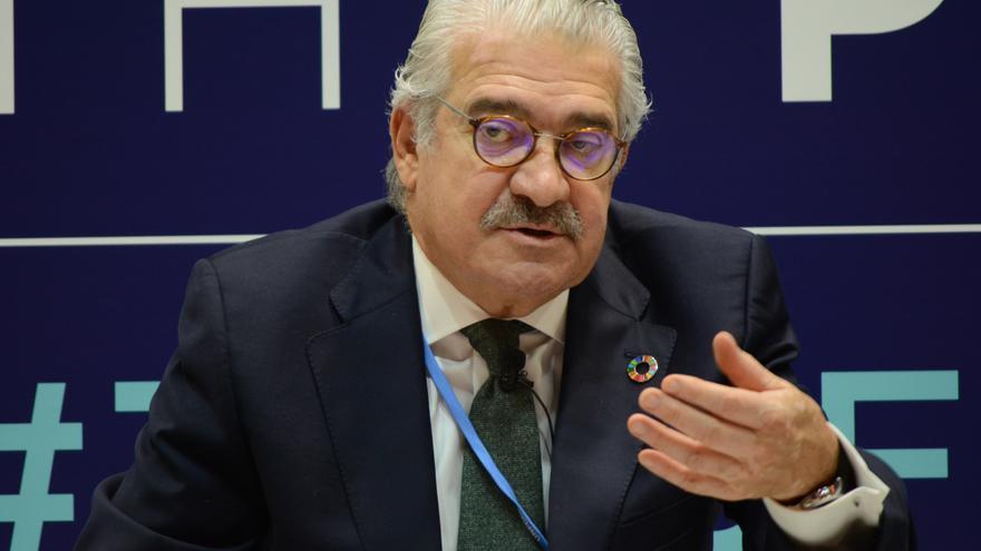 José Bogas, consejero delegado de Endesa, este jueves en la COP25.