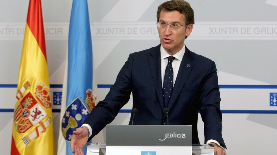 """Feijóo confía en Rajoy para """"reconstruir"""" los votos perdidos y afea que otros barones no hagan """"autocrítica"""""""