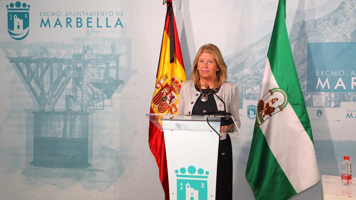 La alcaldesa de Marbella, Ángeles Muñoz, en una imagen de archivo