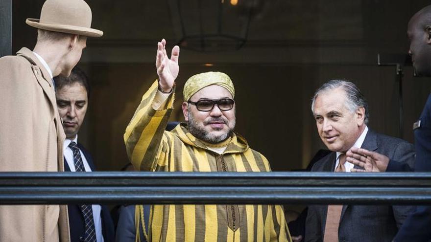 Mohamed VI ofrece a Trump luchar juntos contra terrorismo y extremismos