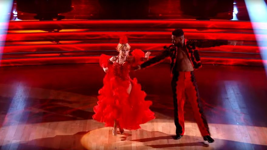 Charo, la concursante española que agita el 'Mira quién baila americano'
