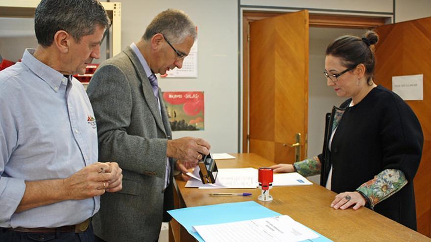 El sistema telemático pretende sustituir al tradicional registro presencial. | PP Cantabria