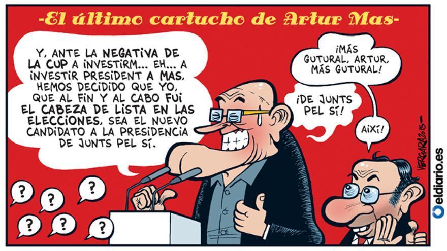 El último cartucho de Artur Mas