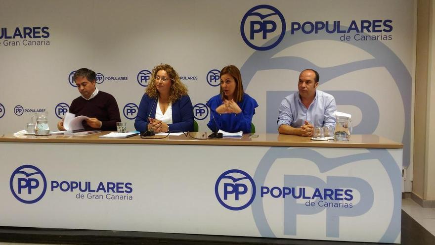 Presentación de la ponencia de reglamento de organización del PP en Canarias que se presentará en el XIV congreso.