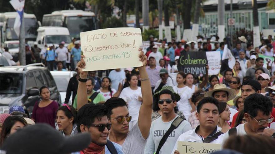 Familiares de desaparecidos piden en Acapulco apoyo a su demanda de justicia