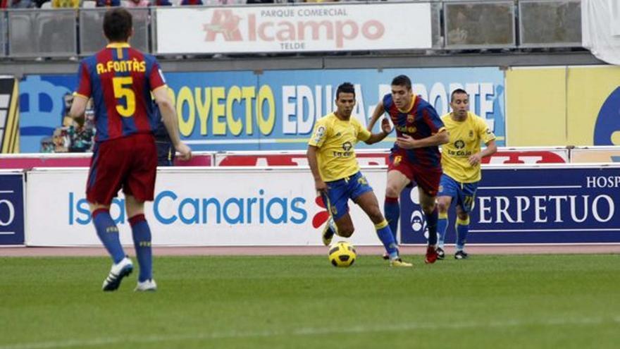 Del UD Las Palmas-Barcelona B #10