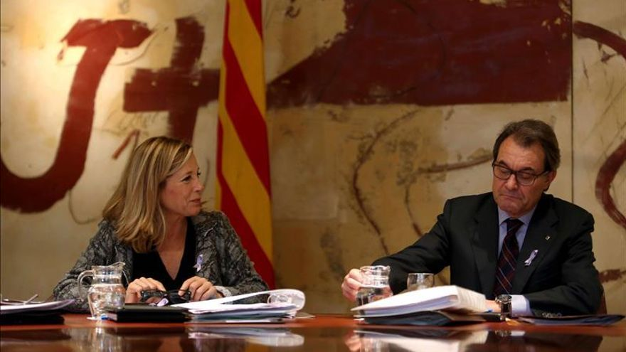 """Mas llama a """"completar el camino"""" y saber si los catalanes quieren un Estado"""