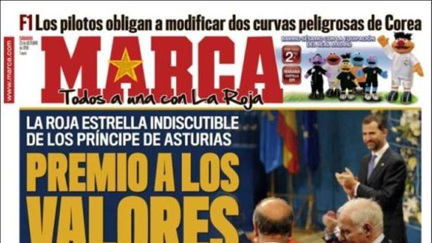 De las portadas del día (23/10/2010) #12