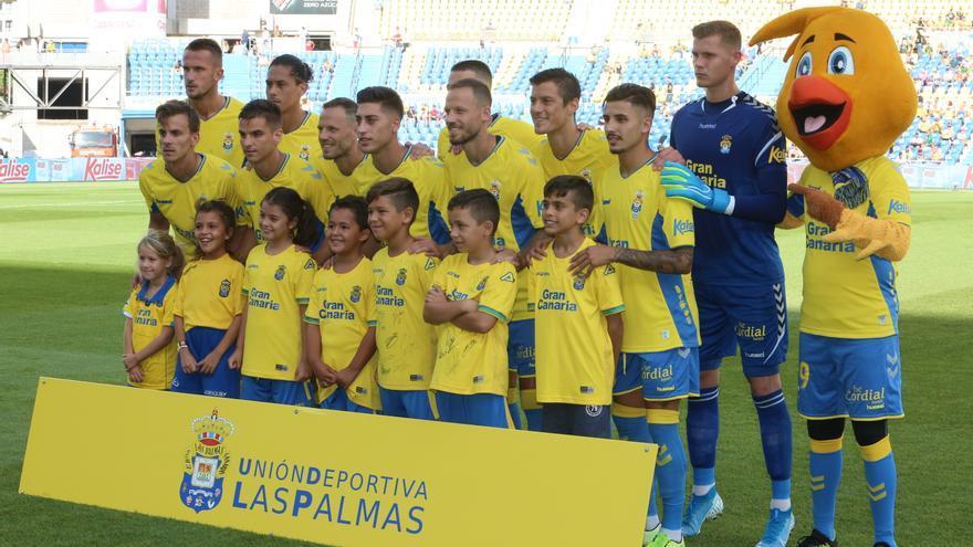 Once inicial de la UD Las Palmas el pasado sábado en casa ante el Almería.