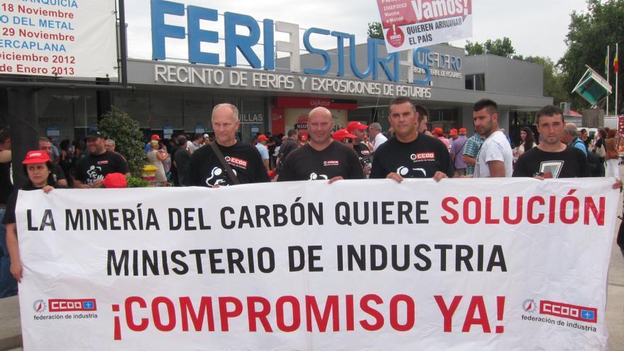 UGT y CCOO convocan movilizaciones para el 8 de octubre en defensa de la industria