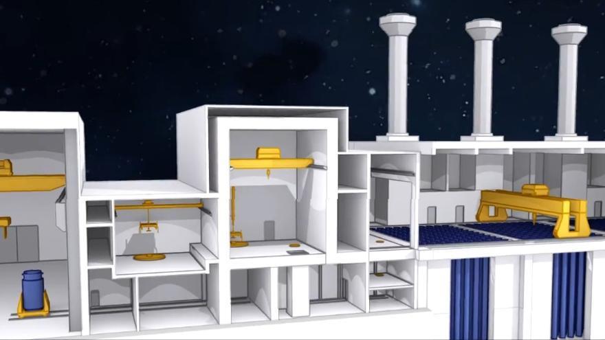 Interior del futuro ATC