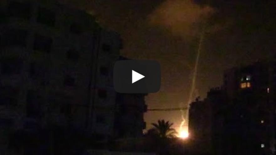Bombardeo de Israel sobre la Franja de Gaza / Juan Ramón Robles