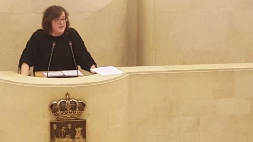 Verónica Ordoñez prevé anunciar el viernes si pugnará por liderar Podemos Cantabria