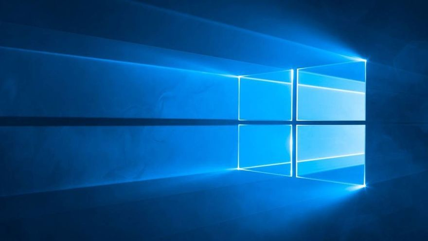 El clásico fondo de escritorio de Windows 10