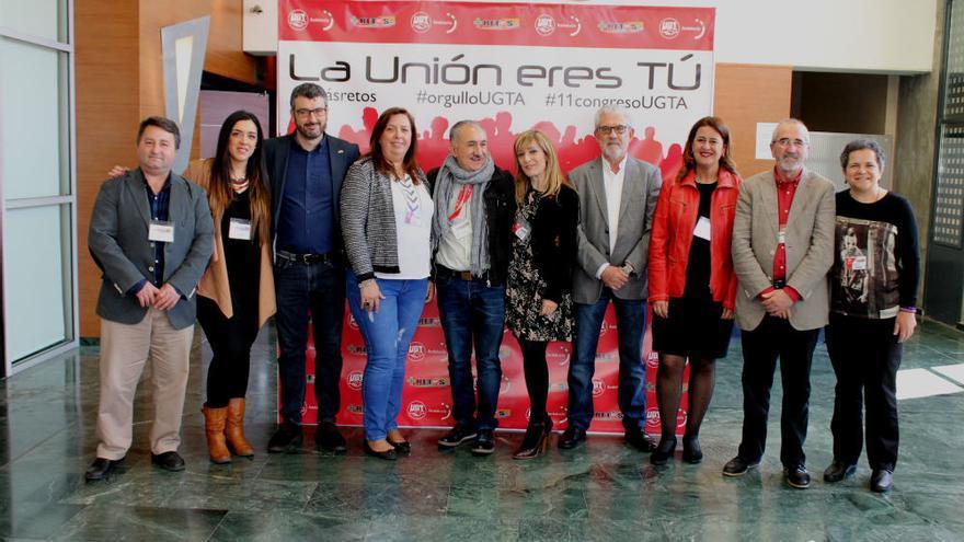 La nueva Ejecutiva Regional de UGT-A
