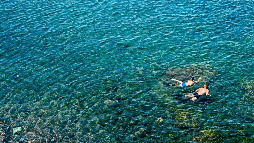 Aguas transparentes en la Playa de La Aldea. Viajar Ahora