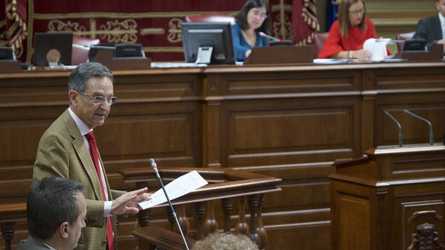 Antonio Castro, diputado por La Palma  y presidente del grupo CC-PNC en el Parlamento de Canarias.