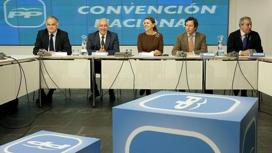 Cospedal centra en el balance del Gobierno y las europeas la convención de PP
