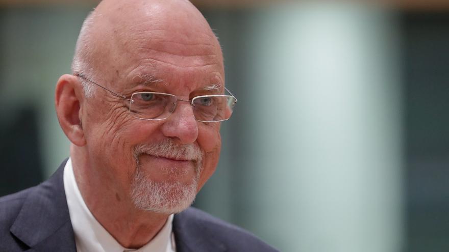 En la imagen, el ministro sueco para la UE, Hans Dahlgren.