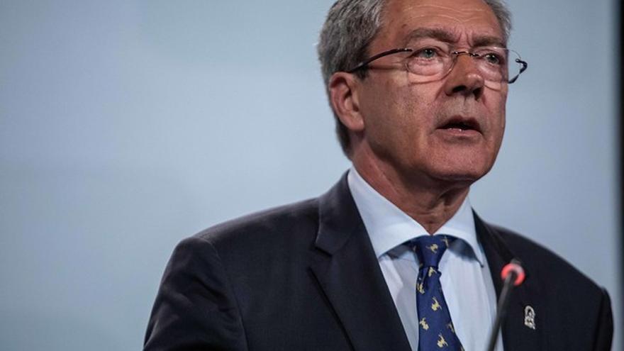 Rogelio Velasco, consejero de Economía del Gobierno andaluz.