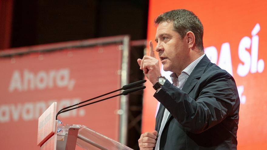 El secretario general del PSOE de Castilla-La Mancha, Emiliano García-Page, en una foto de archivo