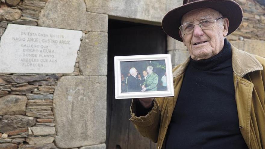 """La """"Cuba gallega"""", cuna del padre de Castro, muestra sus condolencias"""