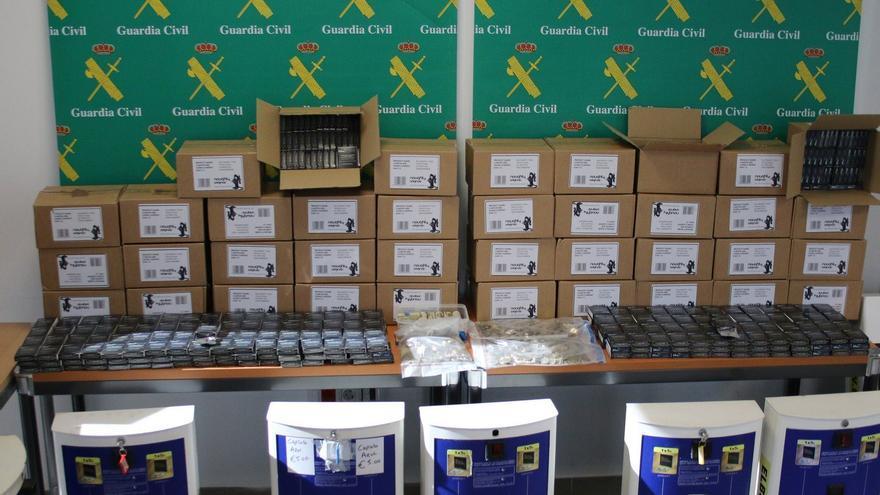 Viagra ilegal requisada por la Guardia Civil en Mallorca